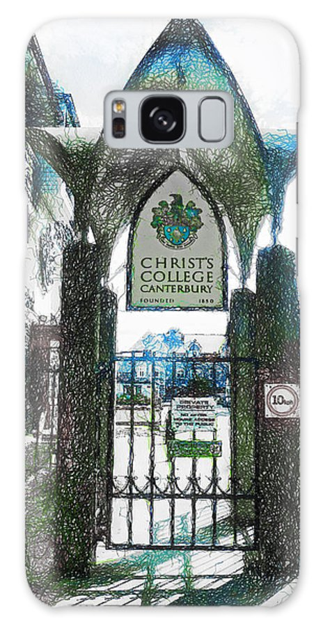 Christ's Galaxy S8 Case featuring the photograph Christ's College Canterbury by Steve Taylor