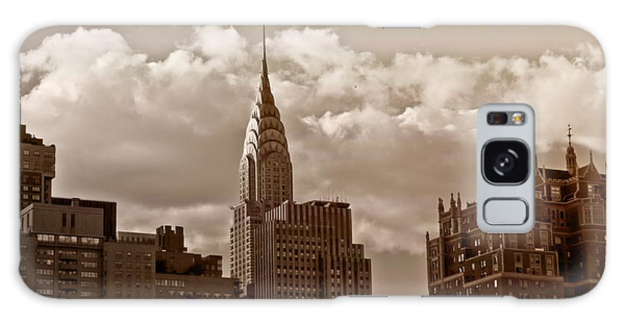 New York City Galaxy S8 Case featuring the photograph Chrysler Building And The New York City Skyline by Vivienne Gucwa