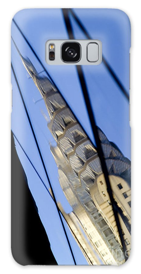 Chrysler Galaxy Case featuring the photograph Chrysler Building by Tony Cordoza