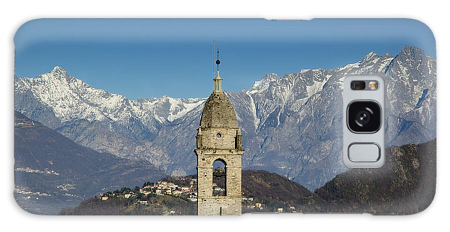 Church Galaxy S8 Case featuring the photograph Church And Alps by Mats Silvan