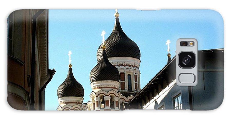 Estonia Galaxy S8 Case featuring the photograph Church In Estonia by Gerald Blaine