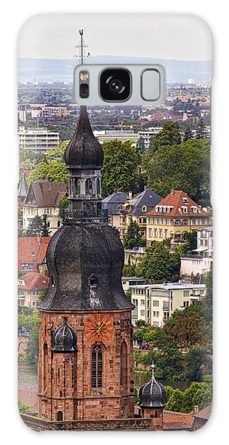 Architecture Galaxy S8 Case featuring the photograph Church Of The Holy Spirit Steeple by Marcia Colelli