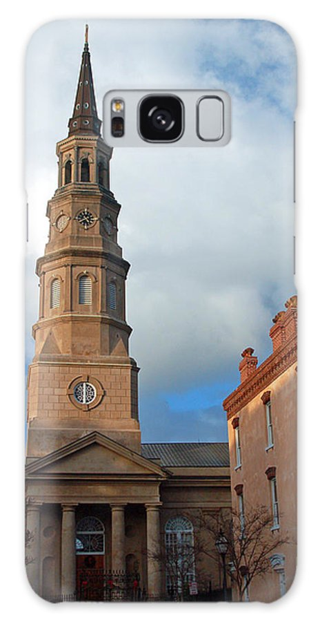Church Street Galaxy Case featuring the photograph Church Street In Charleston Sc by Suzanne Gaff