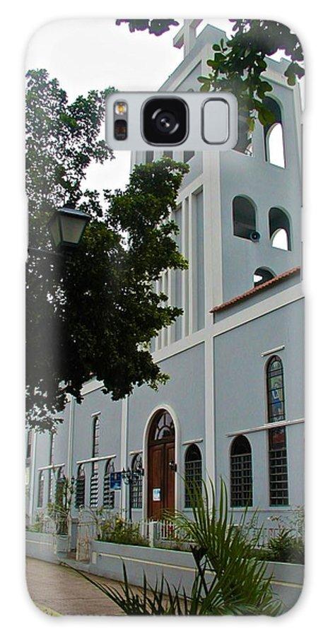 Galaxy S8 Case featuring the photograph Ciales Catholic Church by Ricardo J Ruiz de Porras