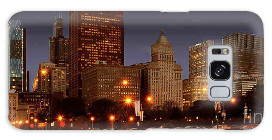 Chicago Galaxy S8 Case featuring the photograph Cicago by Jt PhotoDesign