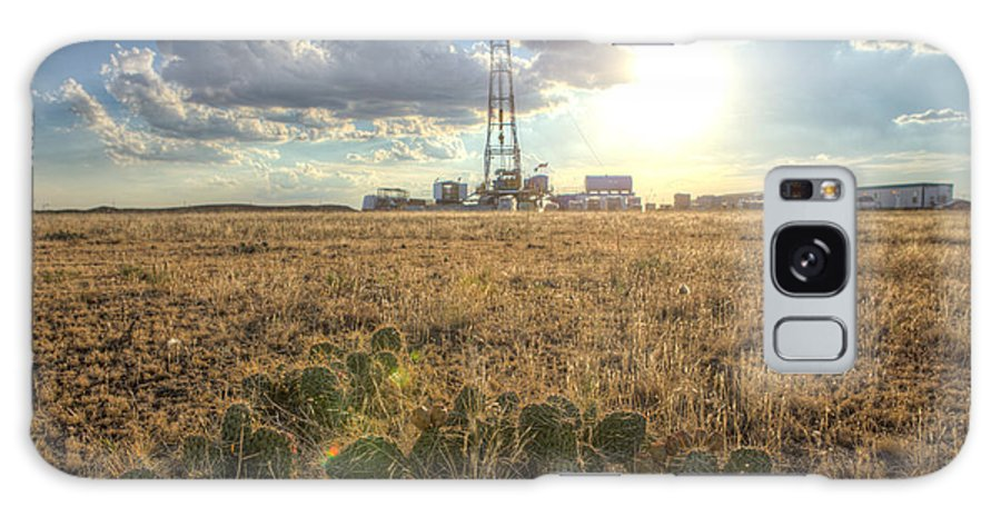 Oil Rig Galaxy S8 Case featuring the photograph Cim001-25 by Cooper Ross