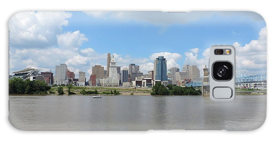 City Galaxy S8 Case featuring the photograph Cincinnati Skyline by Cityscape Photography
