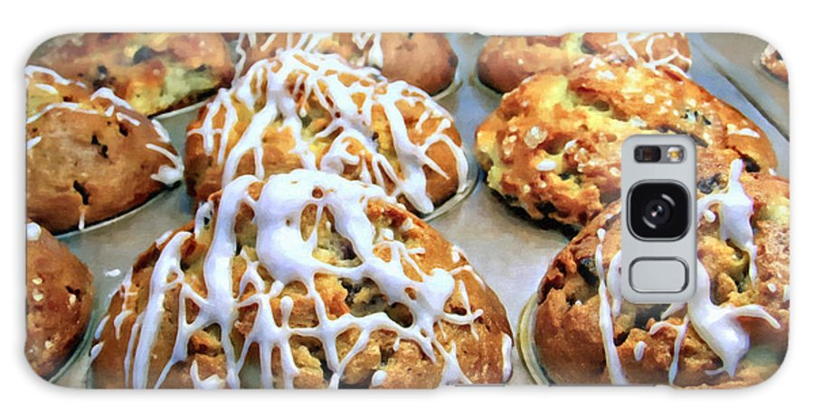 Kenny Francis Galaxy S8 Case featuring the photograph Cinnamon Muffins by Kenny Francis