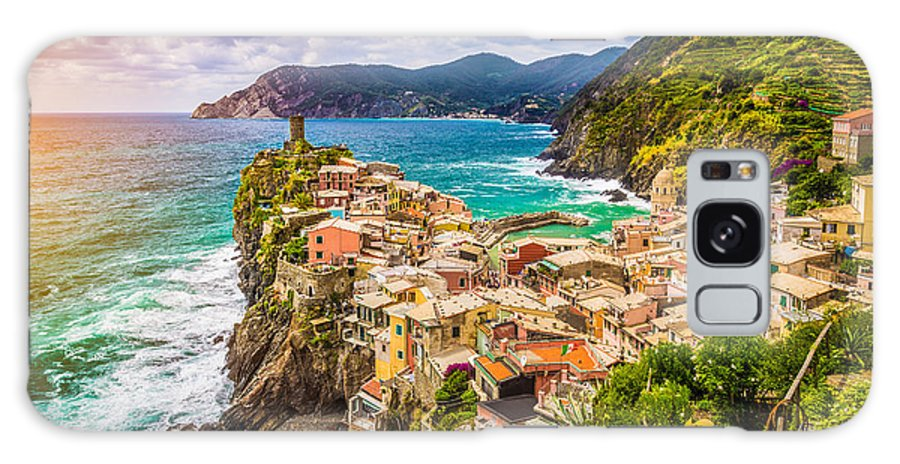 Architecture Galaxy S8 Case featuring the photograph Cinque Terre Sunset by JR Photography