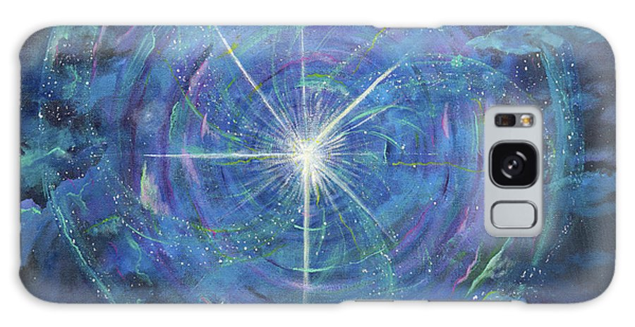 Light Galaxy S8 Case featuring the painting Circle Of Growth by Judy M Watts-Rohanna