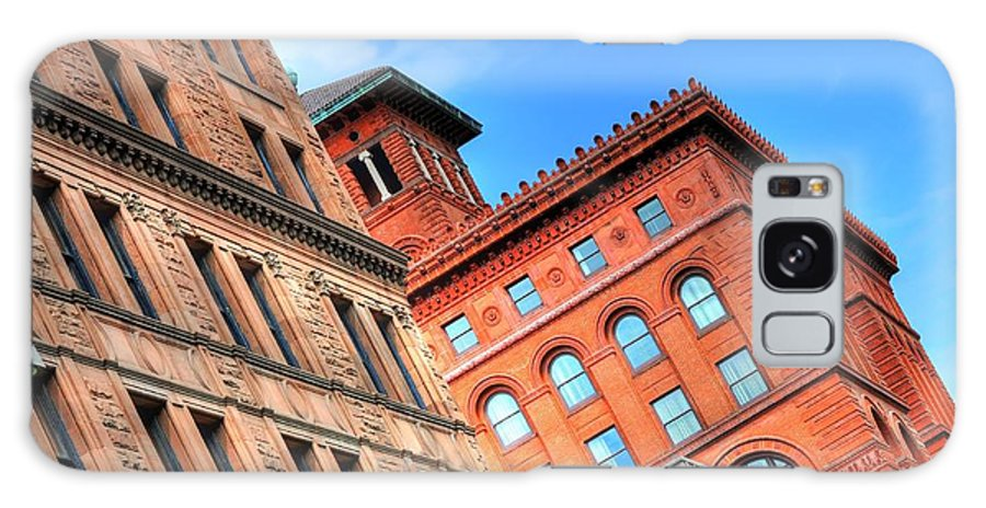Architecture Galaxy S8 Case featuring the photograph City Architecture Kcmo by Liane Wright