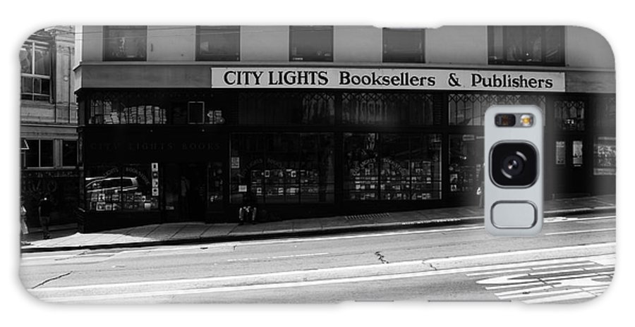 San Francisco Galaxy S8 Case featuring the photograph City Lights Booksellers by Aidan Moran