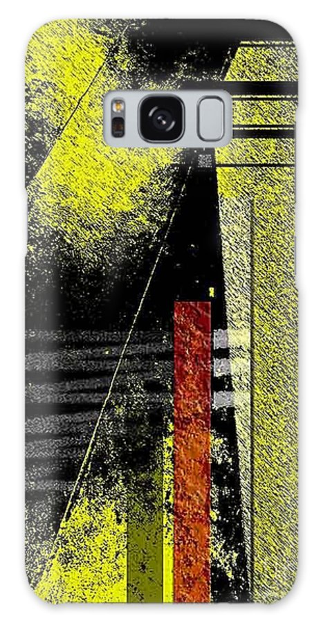 Abstract Galaxy S8 Case featuring the photograph City Under The Pressures by Fei A