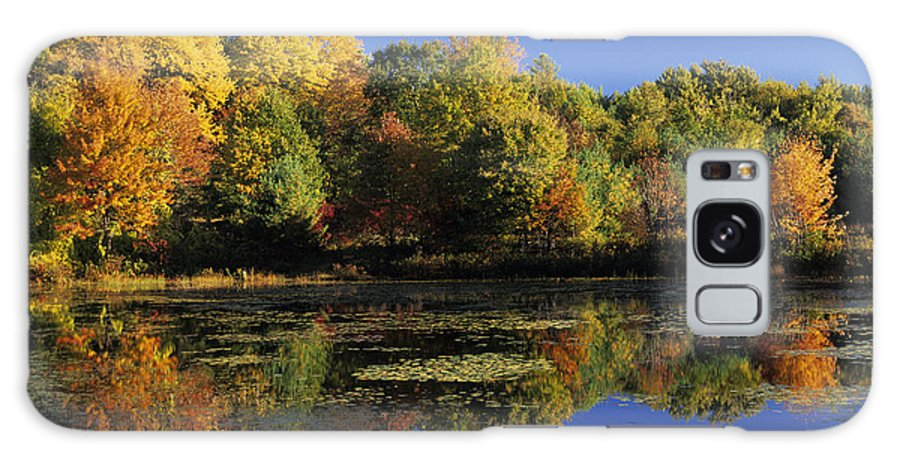 Fall Galaxy S8 Case featuring the photograph Clark Pond - Auburn New Hampshire by Erin Paul Donovan