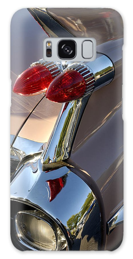 Cadillac Galaxy S8 Case featuring the photograph Classic 1960's Cadillac Fin by Norman Pogson