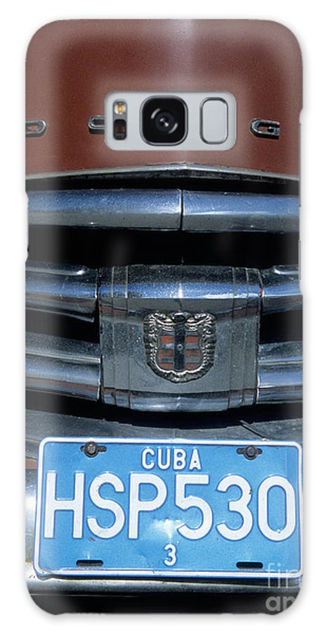 Cuba Galaxy S8 Case featuring the photograph Classic Dodge by James Brunker