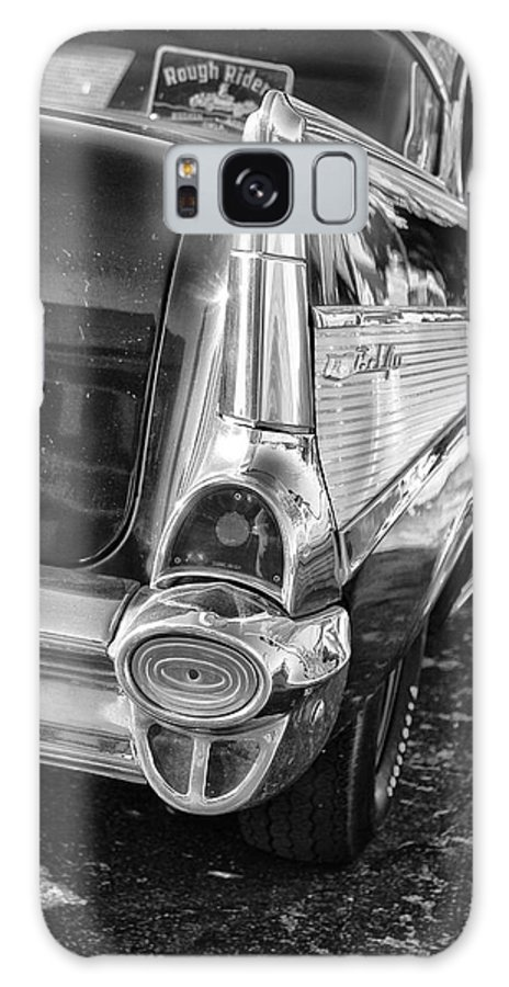 Black And White Galaxy S8 Case featuring the photograph Classic Steel by Tera Bunney