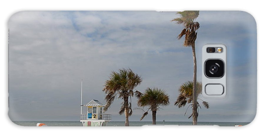 Clearwater Galaxy S8 Case featuring the photograph Clearwater Beach In Wintertime by Christiane Schulze Art And Photography