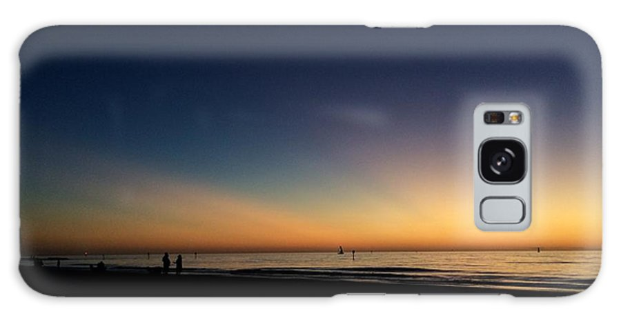 Landscape Galaxy S8 Case featuring the photograph Clearwater Beach Sunset 1 by Nicki La Rosa