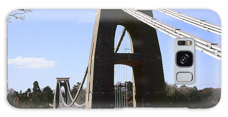 Uk Galaxy S8 Case featuring the photograph Clifton Suspension Bridge Bristol by Christopher Rees
