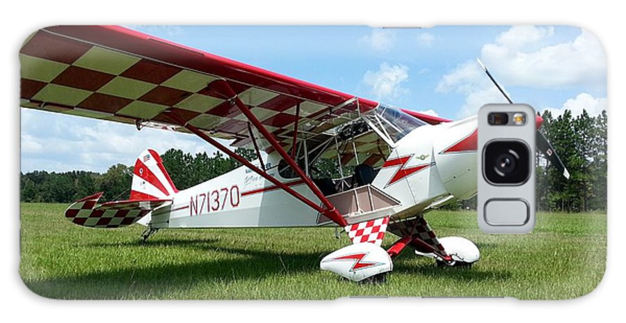 Piper J-3 Cub Galaxy S8 Case featuring the photograph Clipped Wing Cub by Matt Abrams