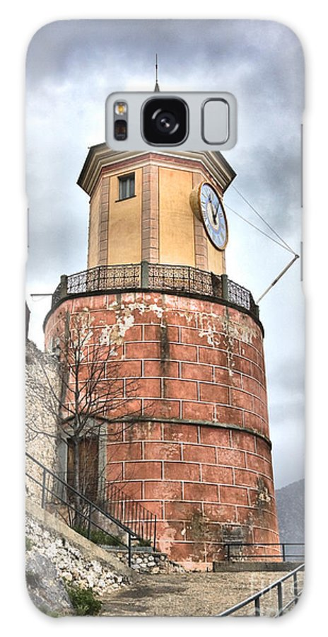 Architecture Galaxy S8 Case featuring the photograph Clock Tower by Gabriela Insuratelu