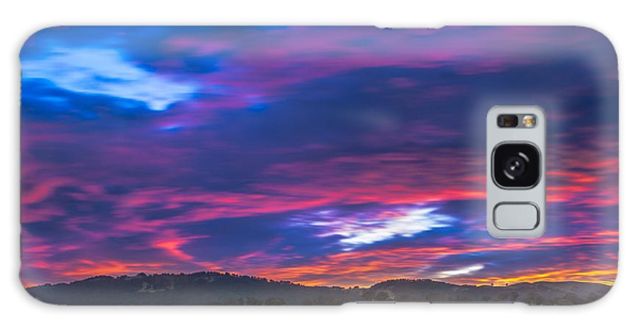 Landscape Galaxy S8 Case featuring the photograph Cloud Movement At Sunset by Marc Crumpler