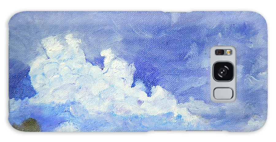 Clouds Galaxy S8 Case featuring the painting Clouds 1 by David Carson Taylor