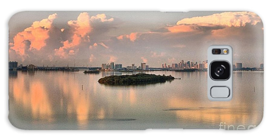 Clouds Galaxy S8 Case featuring the photograph Clouds On The Bay by David Call