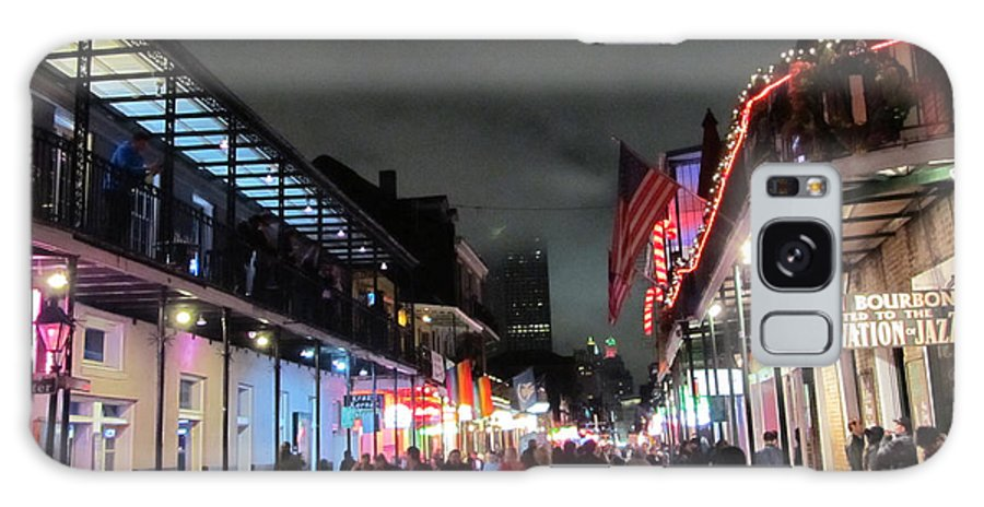 New Orleans Galaxy S8 Case featuring the photograph Clouds Over The Quarter by Hal Gould