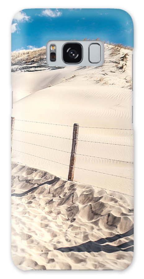 Nature Galaxy S8 Case featuring the photograph Coastal Dunes In Holland by Jenny Rainbow