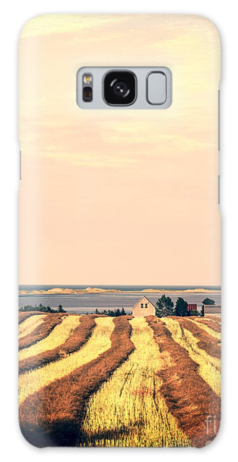Prince Galaxy Case featuring the photograph Coastal Farm Pei by Edward Fielding