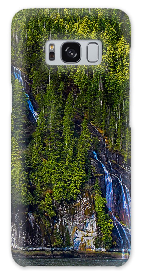Waterfall Galaxy S8 Case featuring the photograph Coastal Waterfall by Robert Bales