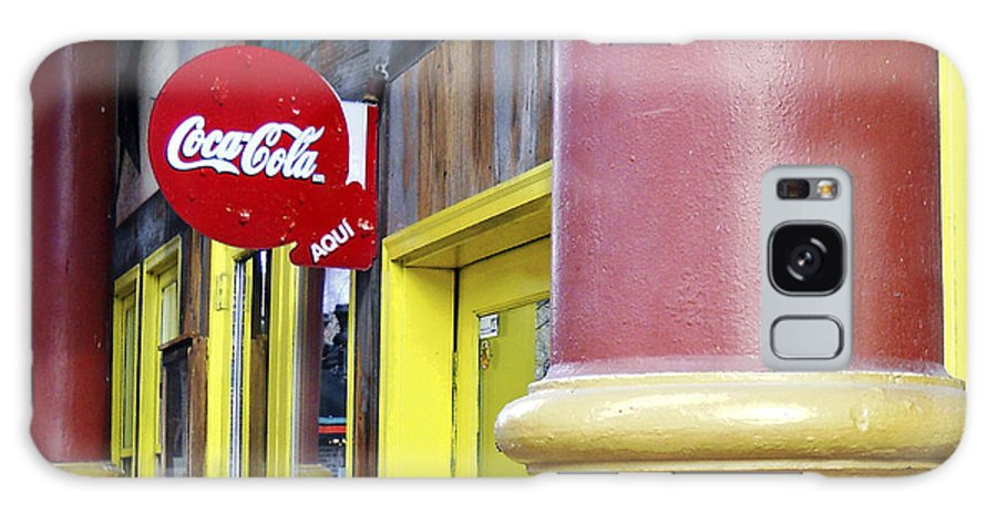 Coca Cola Galaxy S8 Case featuring the photograph Coca Cola In St. Louis by Wendy Raatz Photography