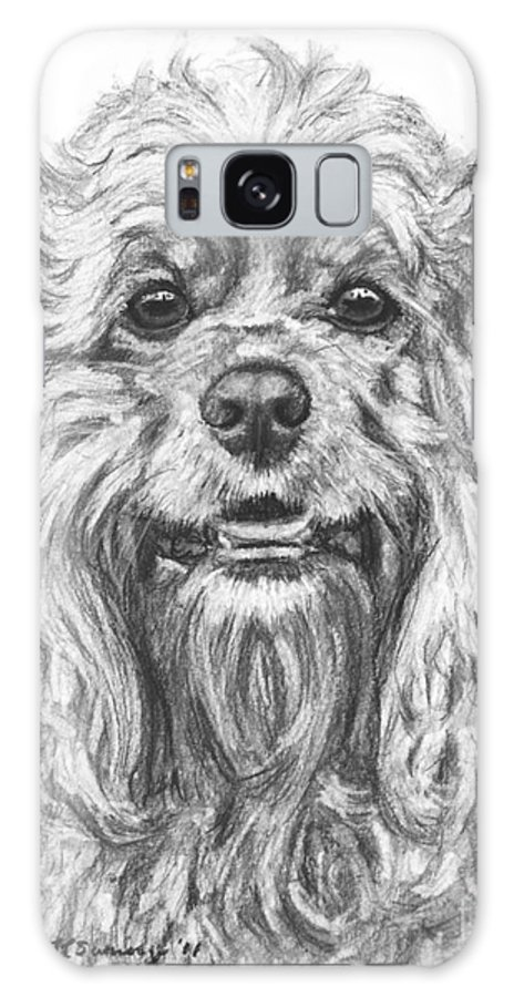 Cocker Spaniel Galaxy S8 Case featuring the photograph Cocker Spaniel Detail by Kate Sumners