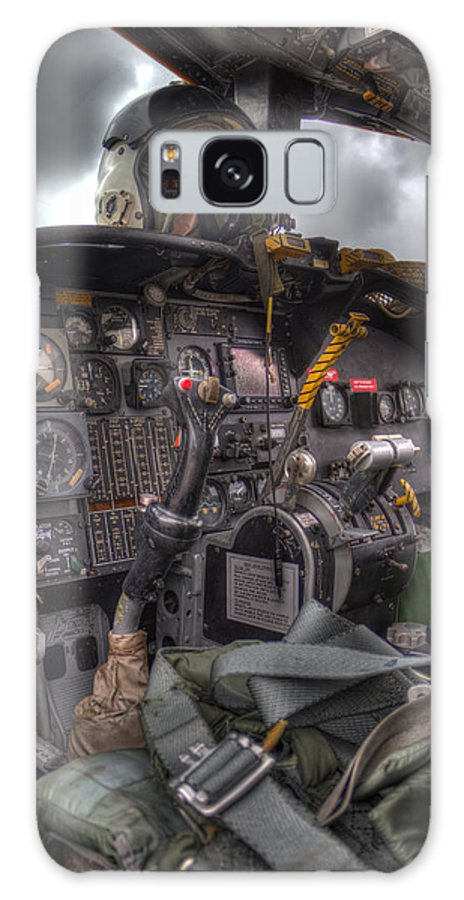 Aircraft Galaxy S8 Case featuring the photograph Cockpit by TJ OHare