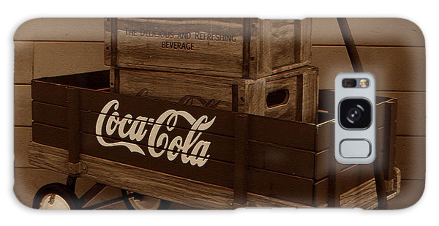 Coke Wagon Galaxy S8 Case featuring the photograph Coke Wagon by David Lee Thompson