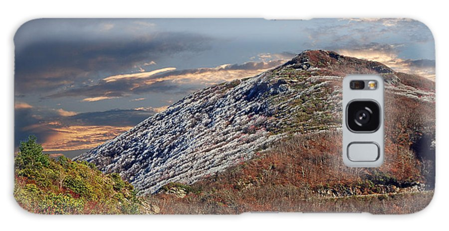 Scenic Tours Galaxy S8 Case featuring the photograph Cold Day On The Blue Ridge by Skip Willits