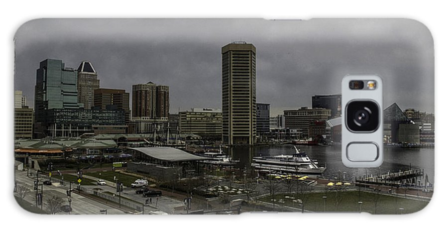 Baltimore Galaxy S8 Case featuring the photograph Cold Harbor Day by Arlene Carmel