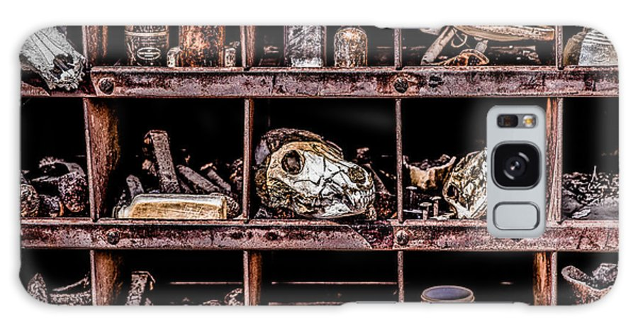 Daniel J. Kmiecik Galaxy S8 Case featuring the photograph Collection At Techatticup Gold Mine-alt Process by Onyonet Photo Studios