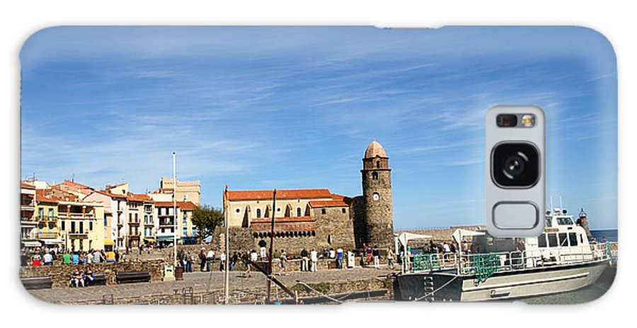 Collioure Galaxy S8 Case featuring the photograph Collioure Boats by Valerie Mellema