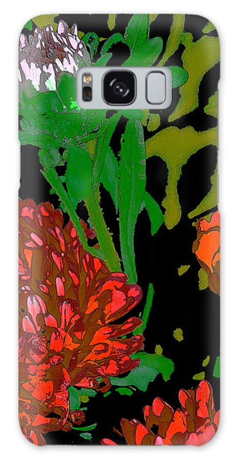Floral Galaxy S8 Case featuring the photograph Color 123 by Pamela Cooper
