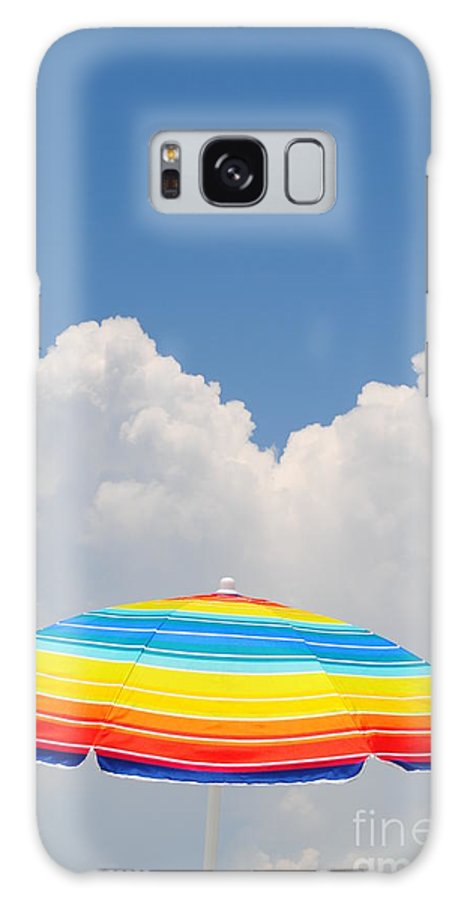 Sky Galaxy S8 Case featuring the photograph Color In The Sky by Lucy Bounds