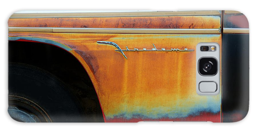 Rust Galaxy S8 Case featuring the photograph Color Of Rust by Bob Christopher