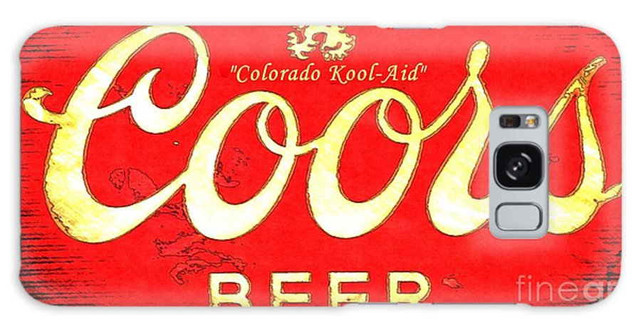 Coors Beer Galaxy S8 Case featuring the photograph Colorado Kool-aid by Barbara Chichester
