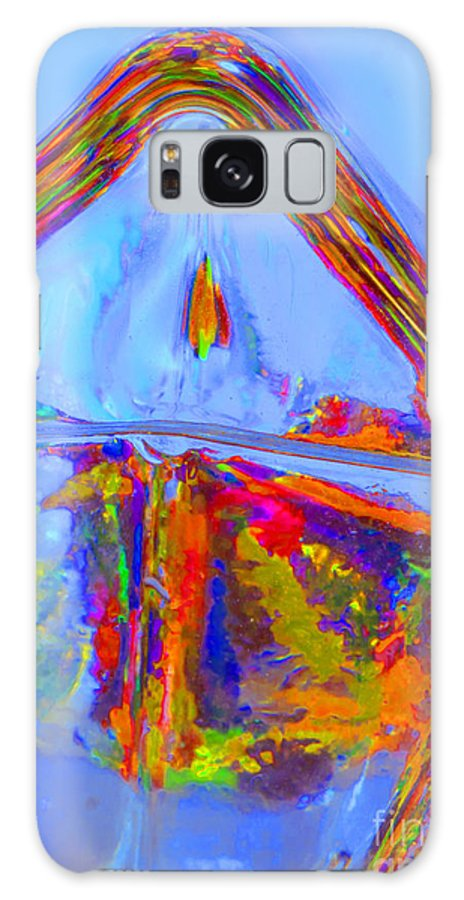Design Galaxy S8 Case featuring the digital art Colorful 1 by Sandra Clark
