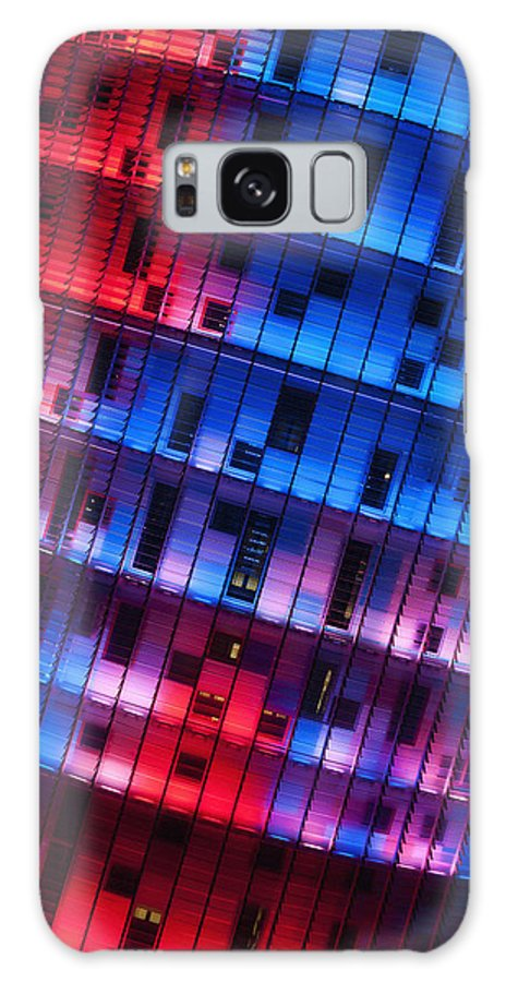 Sanchez Pereyra Galaxy S8 Case featuring the photograph Colorful Elevation Of Modern Building by Carlos Sanchez Pereyra