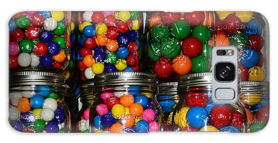 Paul Ward Galaxy S8 Case featuring the photograph Colorful Gumballs by Paul Ward