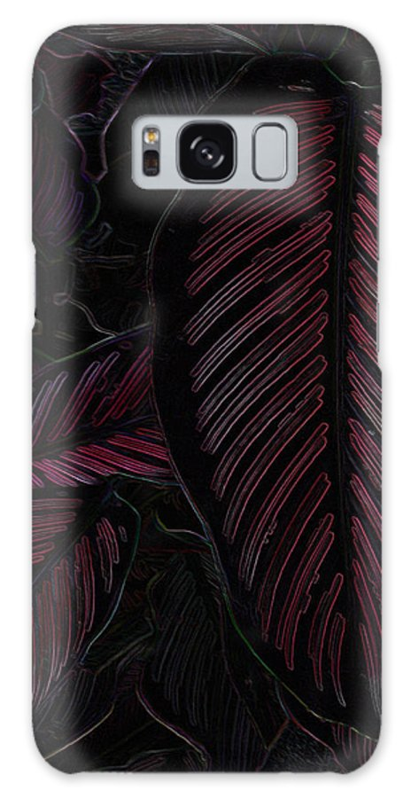 Leaf Galaxy S8 Case featuring the digital art Colorful Leaves by Bliss Of Art