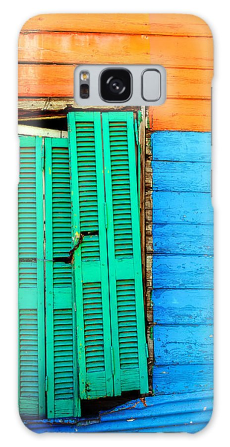 Argentina Galaxy S8 Case featuring the photograph Colorful Slum by Jess Kraft